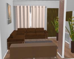 sala pequena e aconchegante