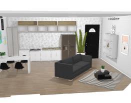 sala e cozinha [casa]