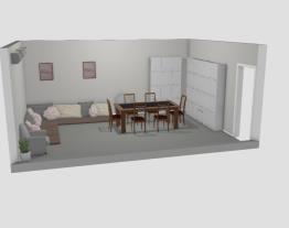 Área de convivência - com armários