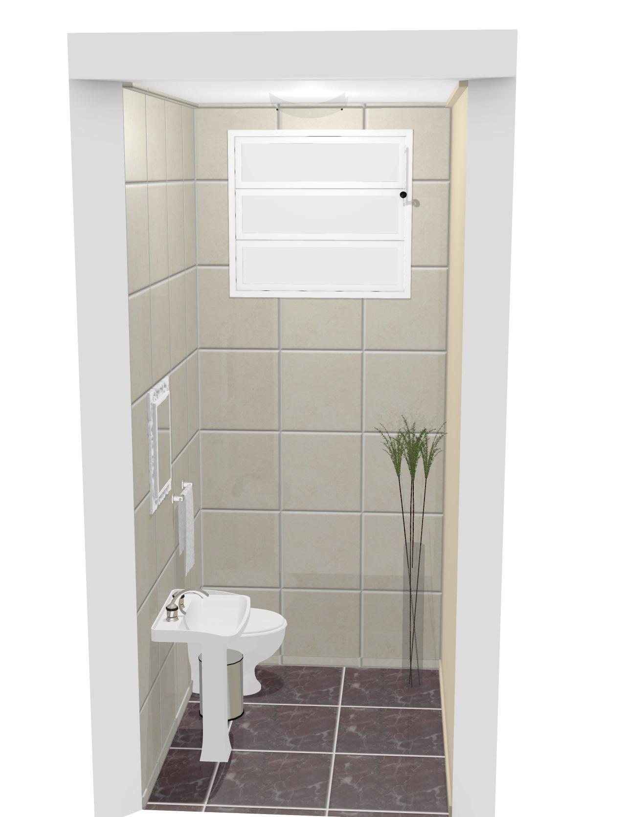 Banheiro Feminino Escritório Dana 2