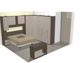 Mirian e Sidnei dormitório