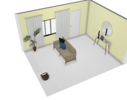 Sala de estar da casa nova
