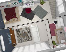 Projeto - Casa com escada