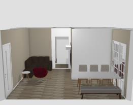 Meu projeto no Mooble - sala e quarto