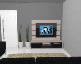 Home theater 2 gavetas de MDF - Ref. 5056 - QUIDITÁ