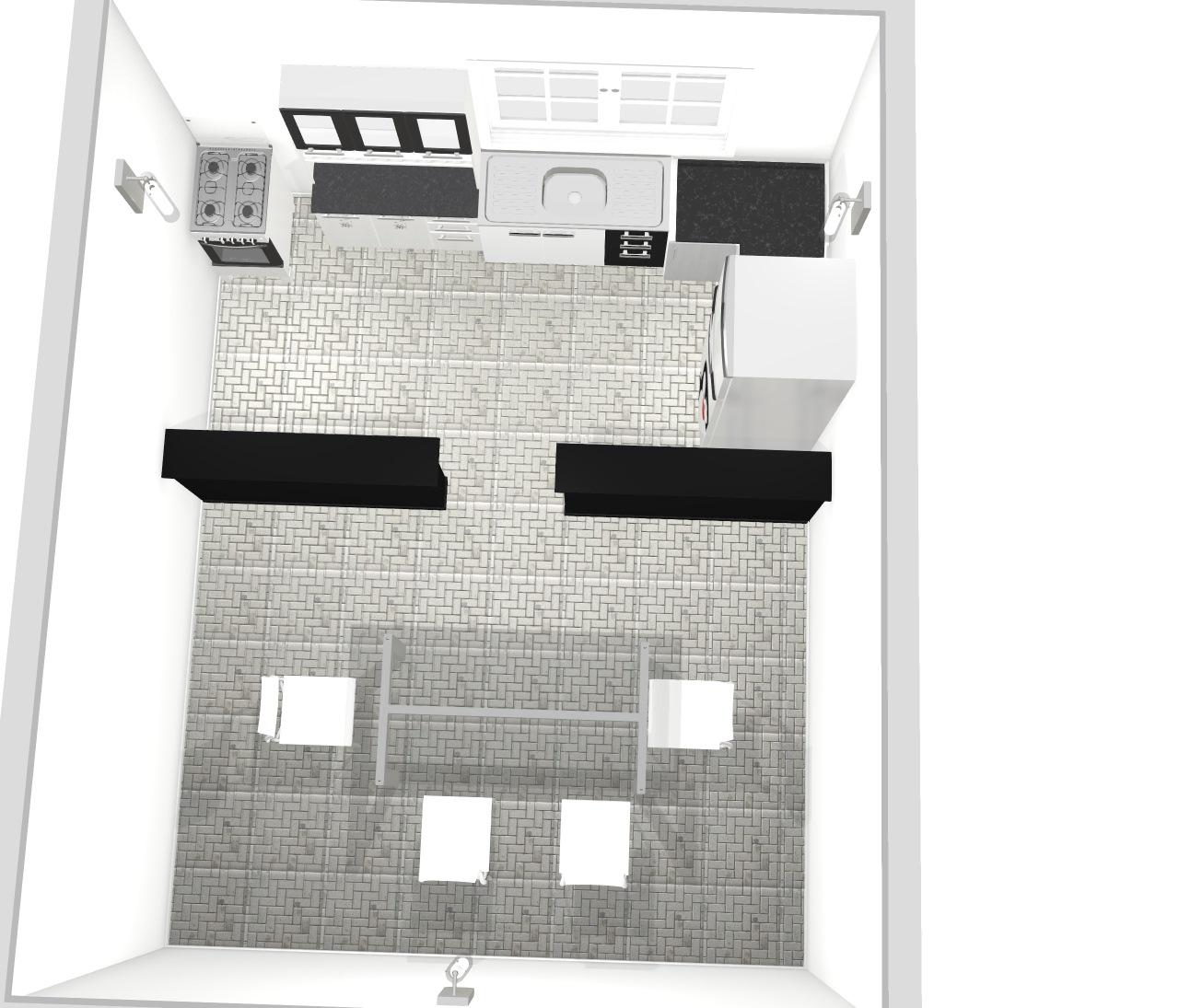 Cozinha c/ Sala de Jantar
