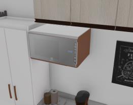 Cozinha /área de serviço/sala