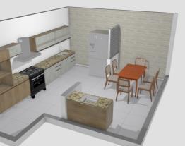 Cozinha Família Marcelo / Leide OPÇÃO 4