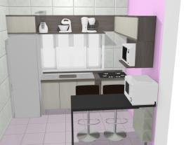 Ariane cozinha