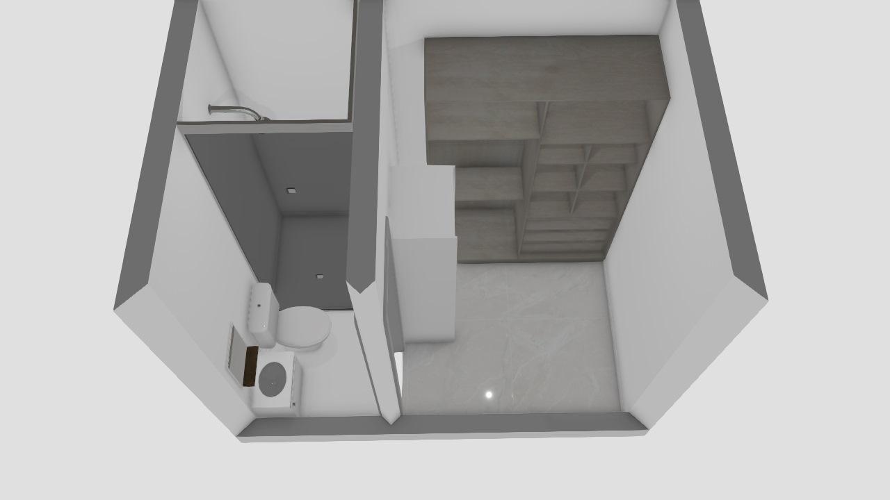 banheiro closet 2x3