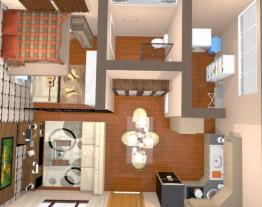 Apart. 42 m²