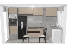 Cozinha Modelo 3 - Delmarco