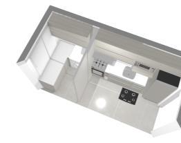 Cozinha MRV modulada/ área de serviço