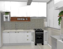 Cozinha Elane - realidade