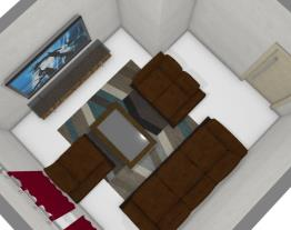 Sala de TV - casa nova
