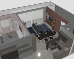 65 m2 banheiro lavanderia