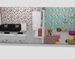 Escritório/Quarto de hóspedes/Sala de brinquedos - Casa 1