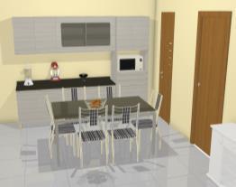 cozinha da cliente de Ana carmem