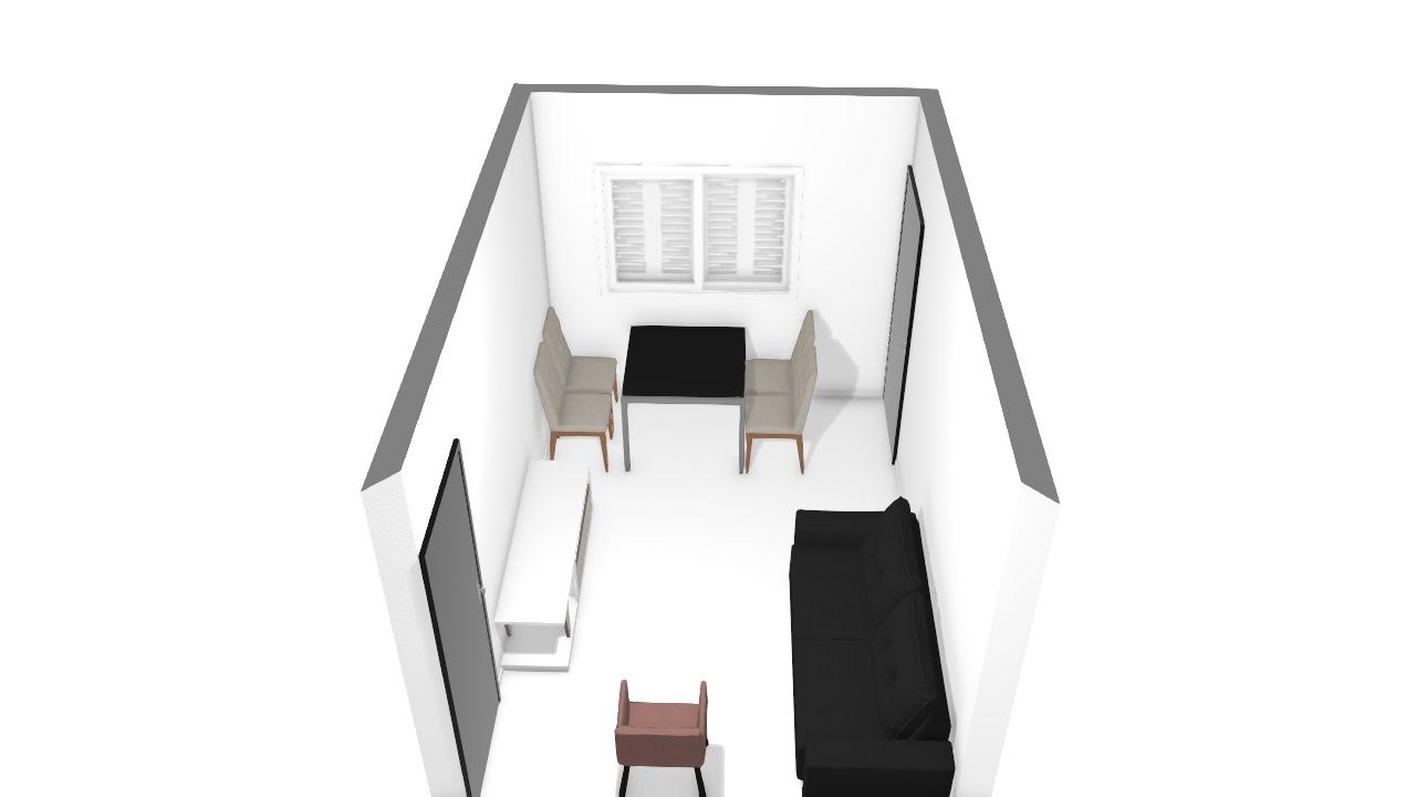 Sala de estar - apartamento