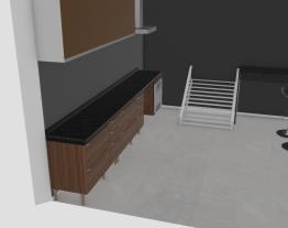 cozinha desnivel