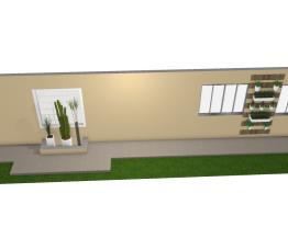 Meu projeto no Mooble parede externa