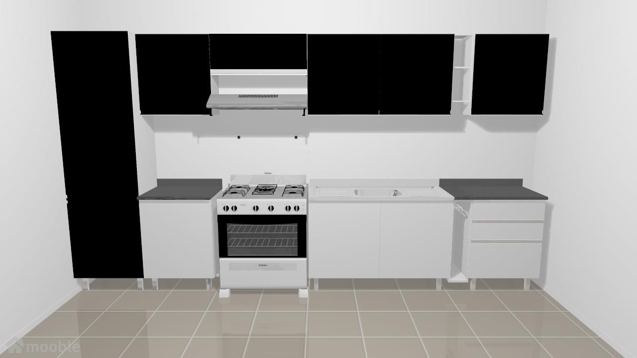 Cozinha Stilo Plus Aço Grafite