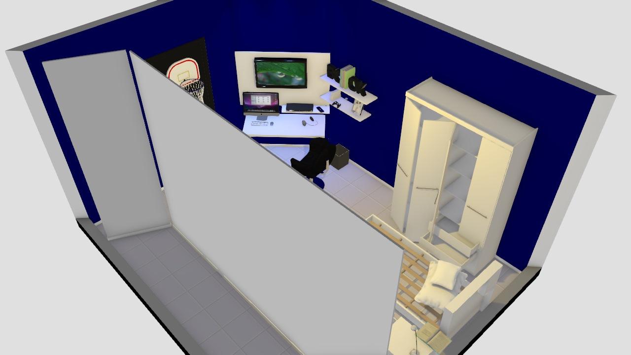 Projeto quarto masculino - j