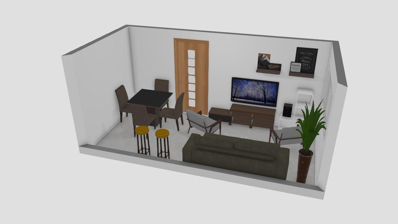 Meu projeto no Mooble-sala