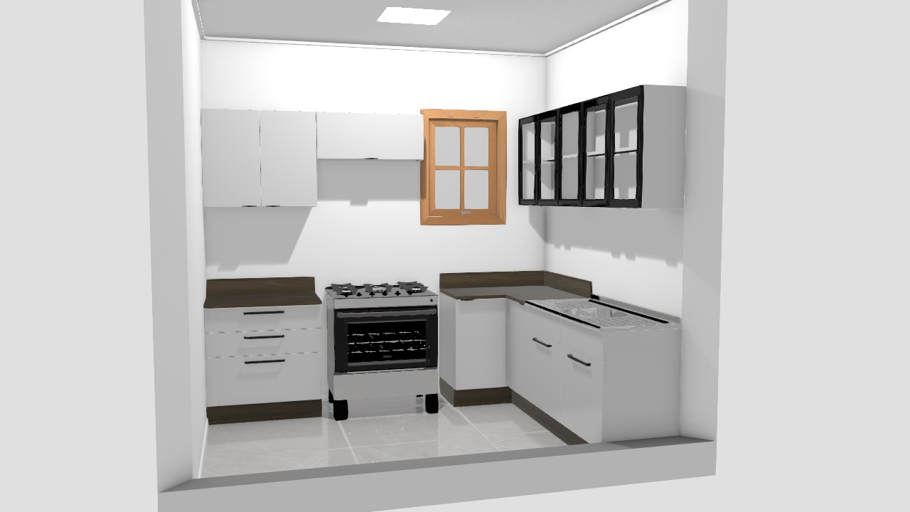 Cocina 1- Exclusive - Cristal