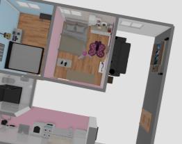 apartamento do Thiago com o quarto da Helena