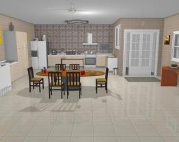 Cozinha grande