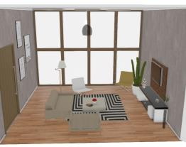 Projeto -sala de estar alta