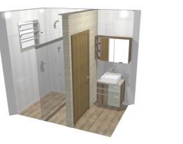 Lavabo e Banheiro Apartamento 11