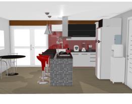 Cozinha externa Daiane