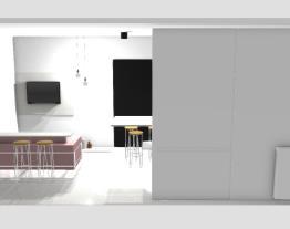 Sala/cozinha opção 2