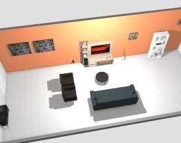 Sala da minha casa