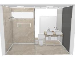 Banheiro de casal - Graziela Lara