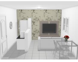 Apartamento - Sala/Cozinha