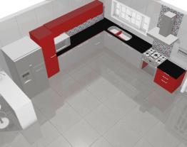 k_Cozinha vermelha