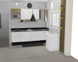 cozinha apartamento atual