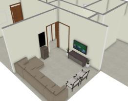 Projeto de uma casa simples 120m²