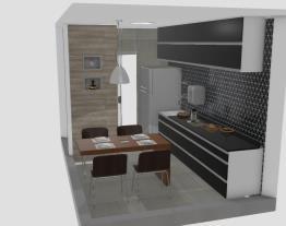 cozinha de MR