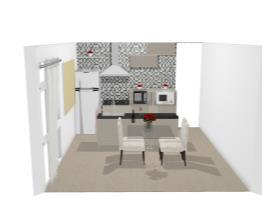 Cozinha com Ilha na Pia