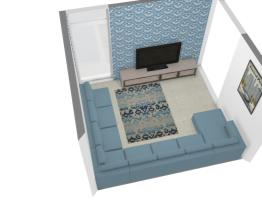 sala de tv casa