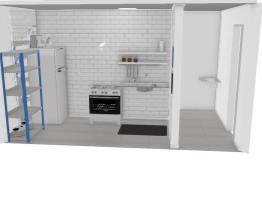 Casa temporária (cozinha / A.S)