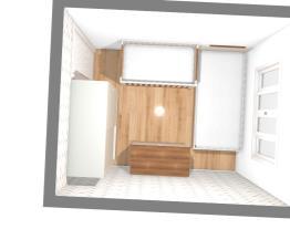 quarto da cliente Tatiana