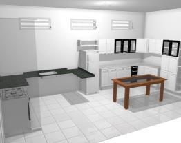 Cozinha de Kaline e Geovanne - Casa 257 - 03