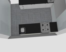 Meu projeto Henn Cozinha em U  com cooktop