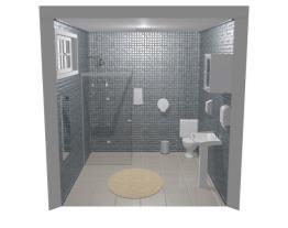 meu banheiro area de lazer