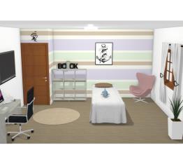 Projeto quarto feminino (solteiro)